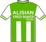 Maglia della Alisian - Fred Baker Cycles