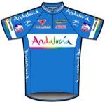 Maglia della Andalucia Continental Team
