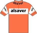 Maglia della Alsaver - De Gribaldy