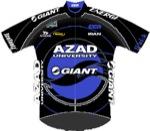 Maglia della Azad University Giant Team