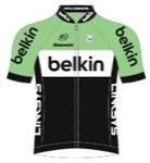 Maglia della Belkin - Pro Cycling Team