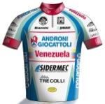 Maglia della Androni Giocattoli - Venezuela