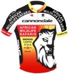 Maglia della African Wildlife Safaris Cycling Team