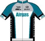 Maglia della Airgas Cycling