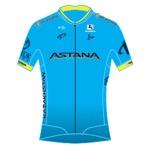 Maglia della Astana Pro Team