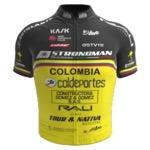 Maglia della Bicicletas Strongman Colombia Coldeportes