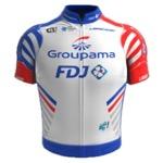 Maglia della Groupama - FDJ Continental