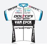 Maglia della Doltcini - Van Eyck Sport Uci Women Cycling
