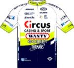 Maglia della Circus - Wanty Gobert