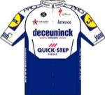 Maglia della Deceuninck - Quick-Step