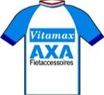 Maglia della Axa Professional Cycling Team