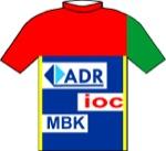 Maglia della ADR - Fangio - IOC - MBK
