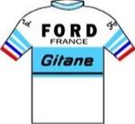 Maglia della Ford - France - Gitane