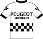 Maglia della Peugeot - BP - Michelin