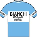 Maglia della Bianchi - Mobylette